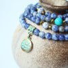 Blue Sodalight Bracelet/Necklace