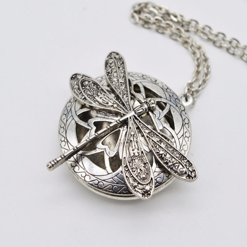 Dragonfly Aromatherapy Diffuser Necklace