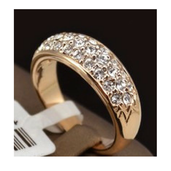 Classic Rose Gold Plated Ring