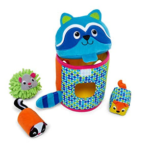 Forest Friend Shape Sorter Set de animales de tela para bebe