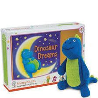 Book and Knit Dinosaur