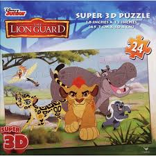 3D Puzzle The Lion Guard 24 Piezas Rompecabezas