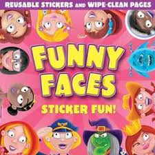 Funny faces Sticker Fun Girls