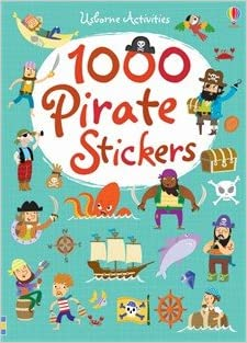 1000 pirate stickers
