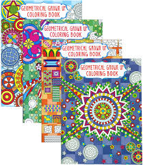 Geometrical Grown Up Coloring Book Unidad