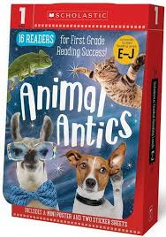 Animal antics for first grade reading succes