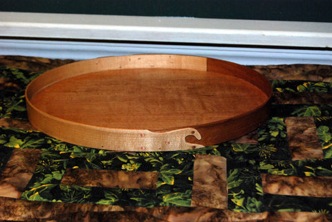 Keller Krafted Shaker Style Dual Band Swallow Tail Tray