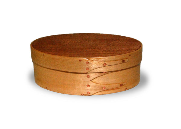 Handcrafted Shaker Style Oval Box Size 1 - MUSIC BOX
