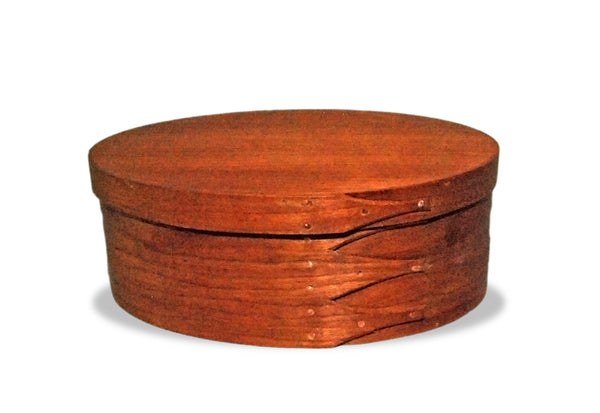 Handcrafted Shaker Style Oval Box Size 4