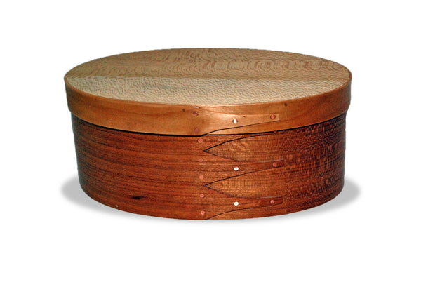 Handcrafted Shaker Style Oval Box Size 5