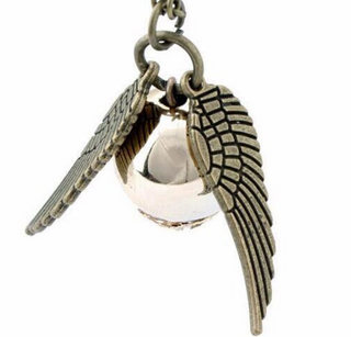 Harry Potter Angel Wings Charm Necklace