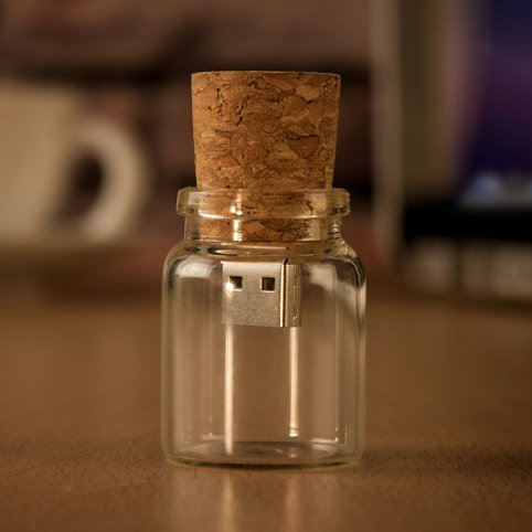 Cute Wishing Bottle Thumb Drive