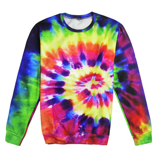 Colorful Tie Dye Sweatshirts