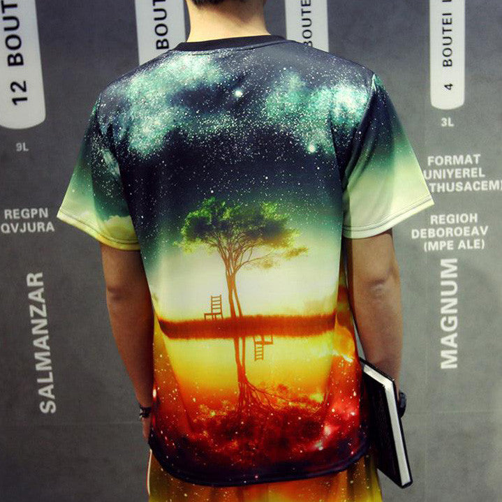 Nightfall Galaxy T-Shirt