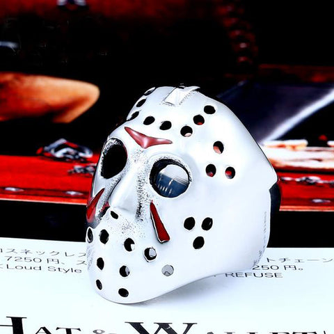 Jason Voorhees Mask Biker Ring