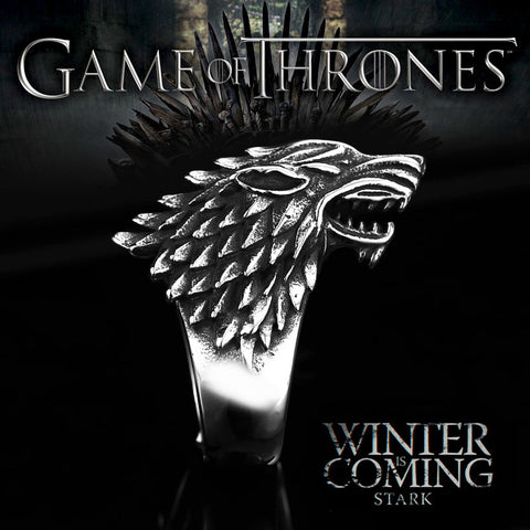 Game of Thrones Biker Animal Ring