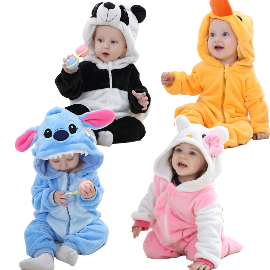 Cute Animal Jumpsuit For Babies