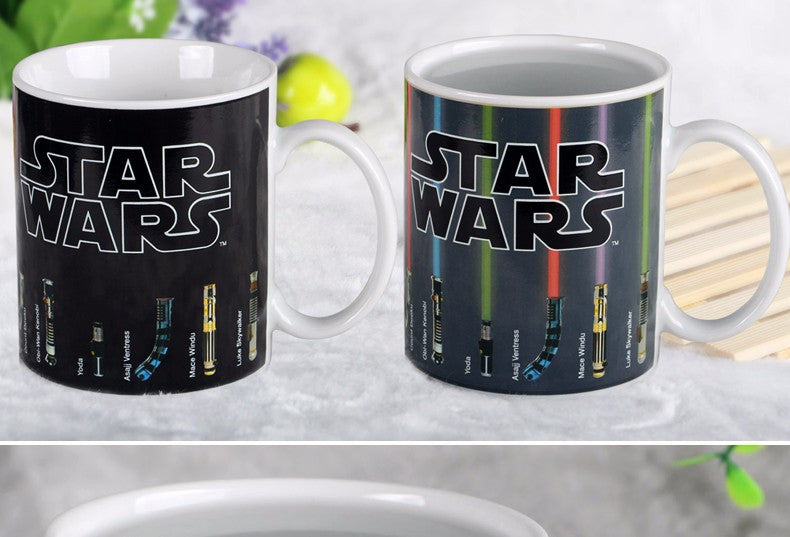Star Wars Lightsaber Heat Reveal Mug - themdeals - 2