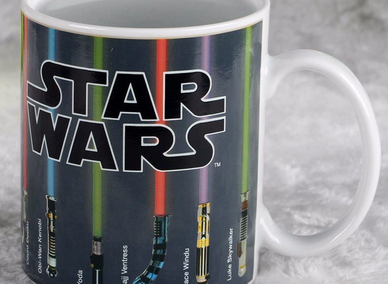 Star Wars Lightsaber Heat Reveal Mug - themdeals - 4