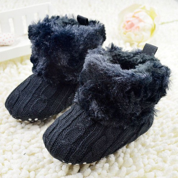Baby Knit Fleece Boots