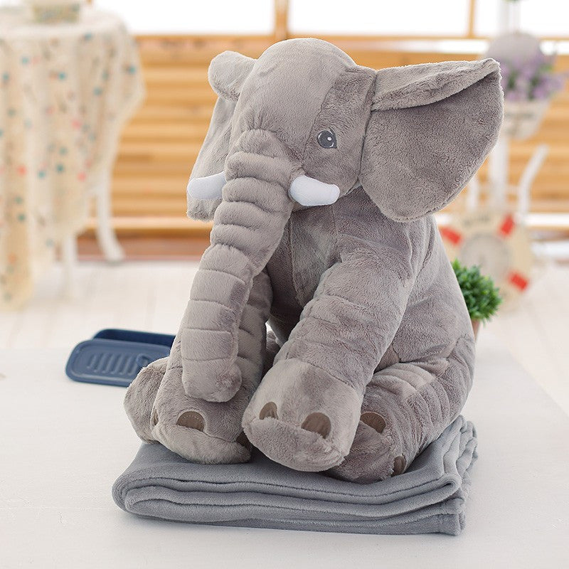 Super Cute Elephant Pillow With Blanket