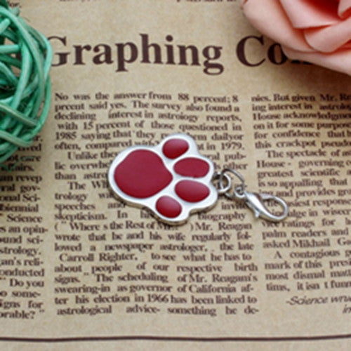 Dog Collar Pendant - Pawprint Necklace - themdeals - 3