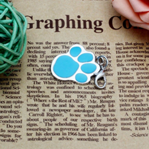 Dog Collar Pendant - Pawprint Necklace - themdeals - 5