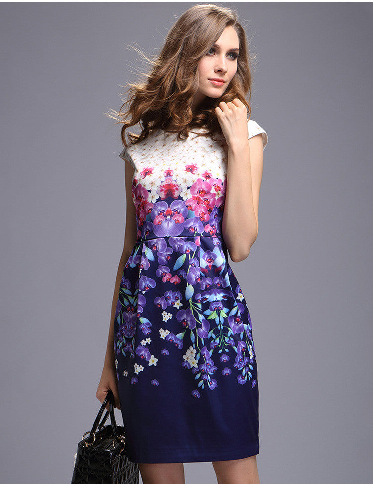 Women Floral Printed Summer Dress