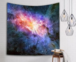 Universe Galaxy Star Bohemian Tapestry