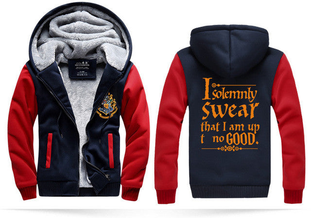 I Solemnly Swear That I Am Up To No Good Hoodie Jacket