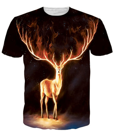 Golden Deer T-shirt
