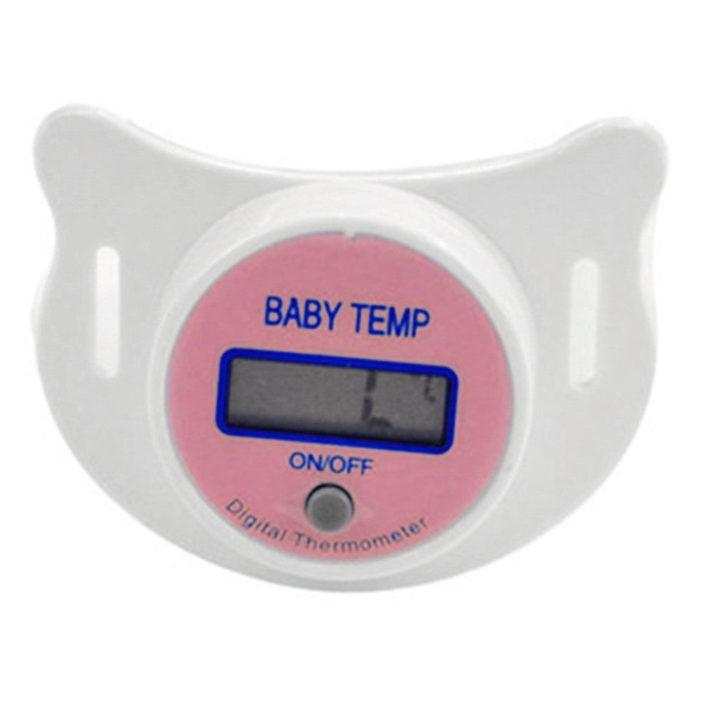 Baby Pacifier Thermometer with LCD Digital Display