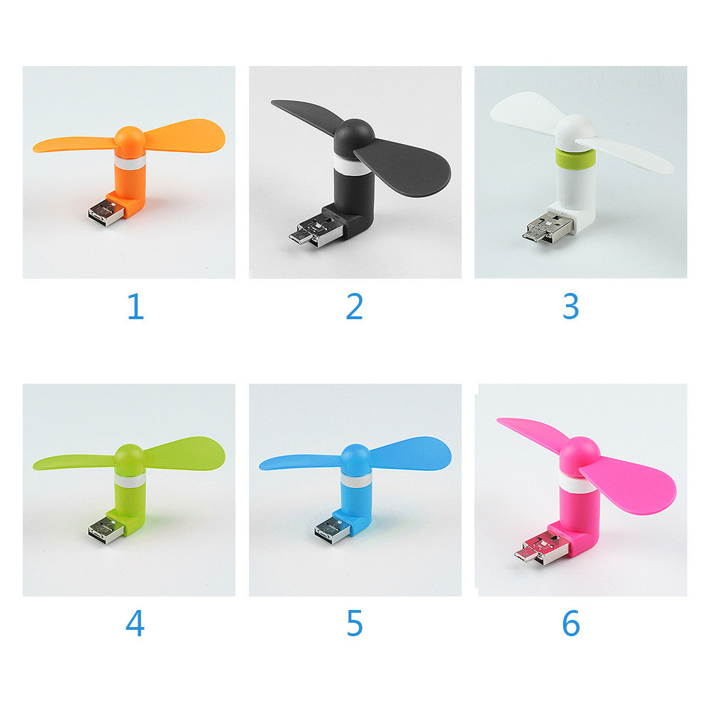 Cute Mini Mobile Phone USB Fan - themdeals - 6