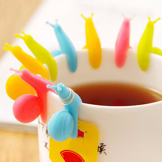 Cute Snail Shape Silicone Tea Bag Holders - themdeals - 1