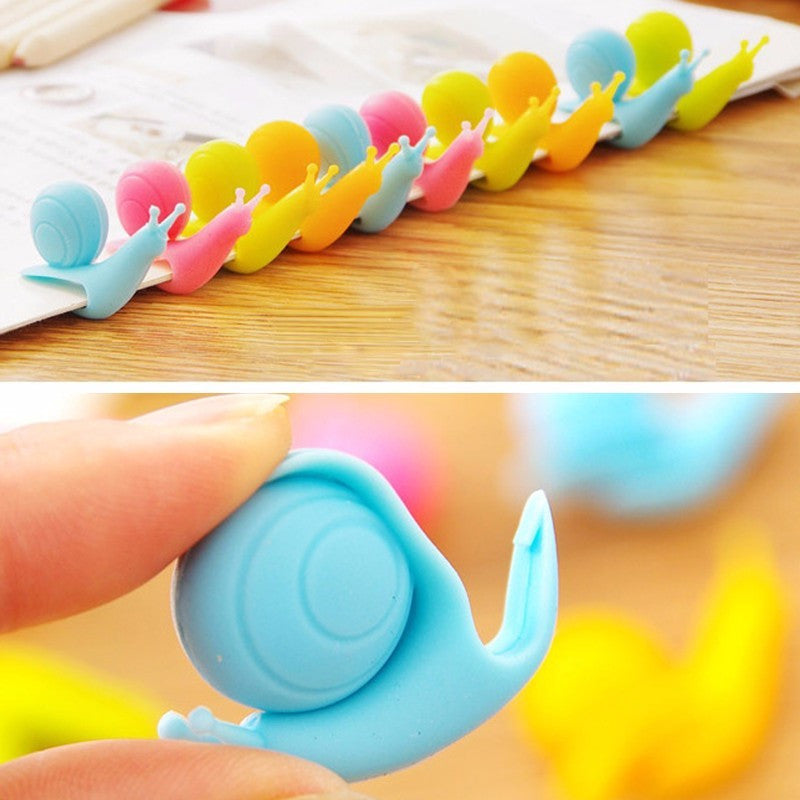 Cute Snail Shape Silicone Tea Bag Holders - themdeals - 2