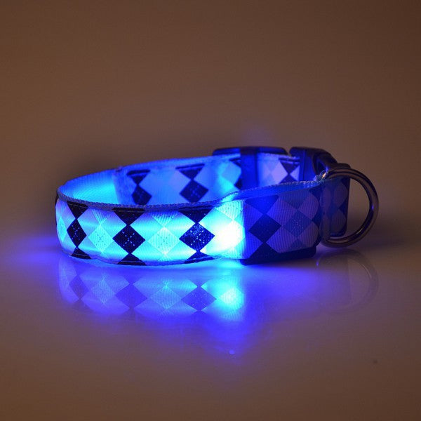 Nylon LED Dog Collar - themdeals - 1