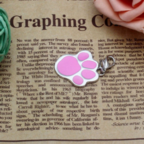 Dog Collar Pendant - Pawprint Necklace - themdeals - 2