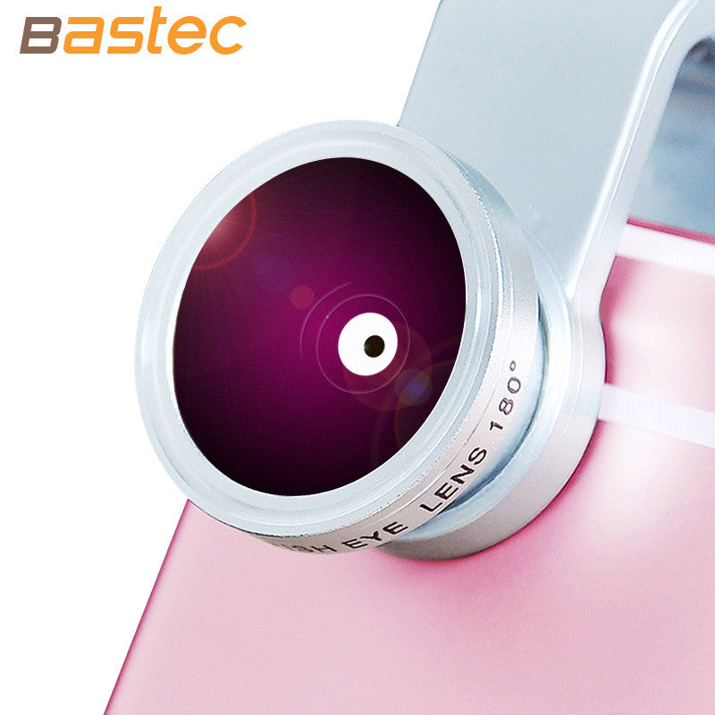 Original 3 in 1 Phone Fish eye Wide Angle Macro Lens with Universal Clip for iPhone Samsung Xiaomi Sony etc. - themdeals - 5