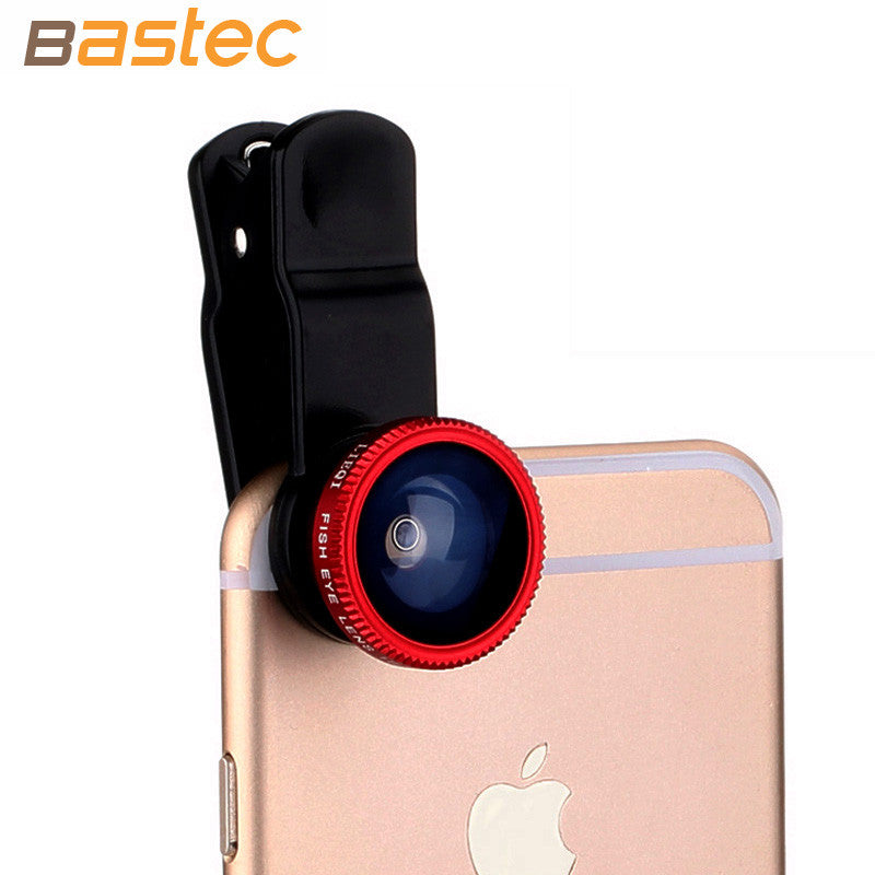 Original 3 in 1 Phone Fish eye Wide Angle Macro Lens with Universal Clip for iPhone Samsung Xiaomi Sony etc. - themdeals - 4