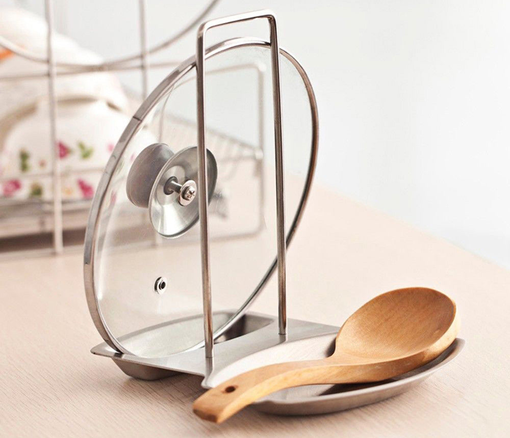 Stainless Steel Lid Stand - themdeals - 5