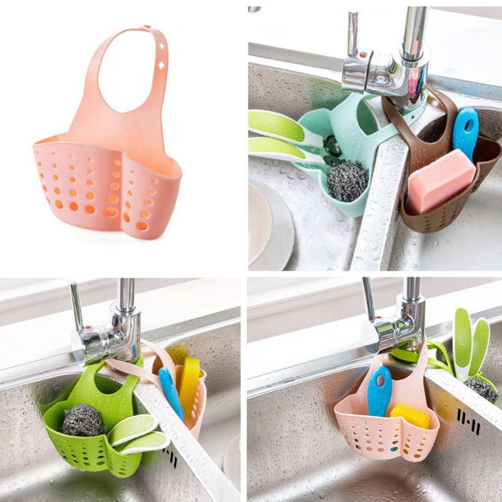 Kitchen Portable Hanging Drain Bag Basket - themdeals - 1