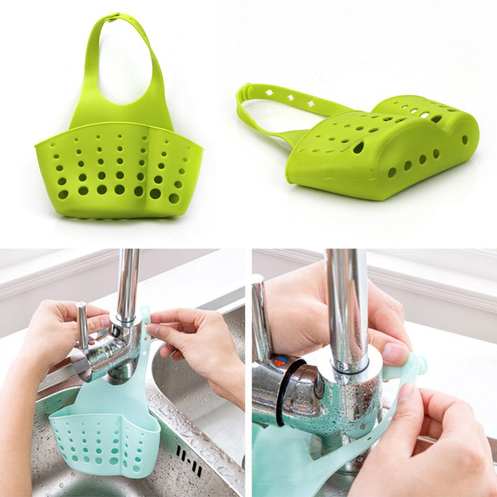 Kitchen Portable Hanging Drain Bag Basket - themdeals - 10