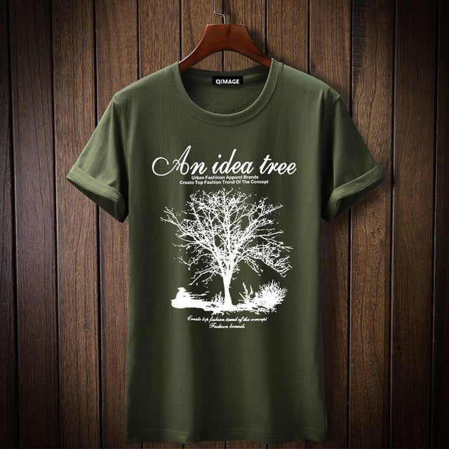 New Arrival 2018 Summer men T-shirts An Idea Tree