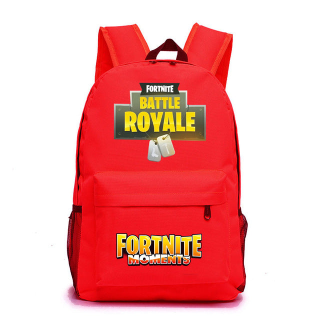 Fortnite Battle Royale Backpack School Bags for Boys Schoolbags  12 Colors