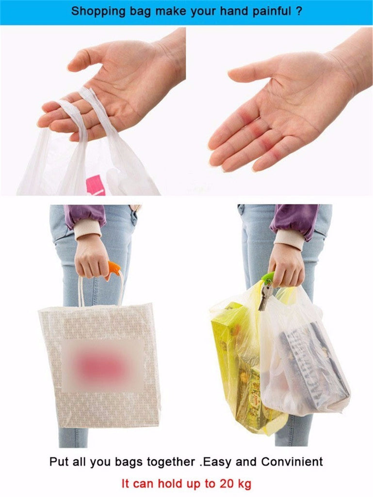 1PCS Convenient Bag Hanging Quality Shopping Handles - Carry Bags 15g Kitchen Gadgets Silicone - themdeals - 3