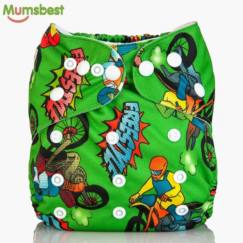One Size Reusable & Adjustable Baby Diapers Cover