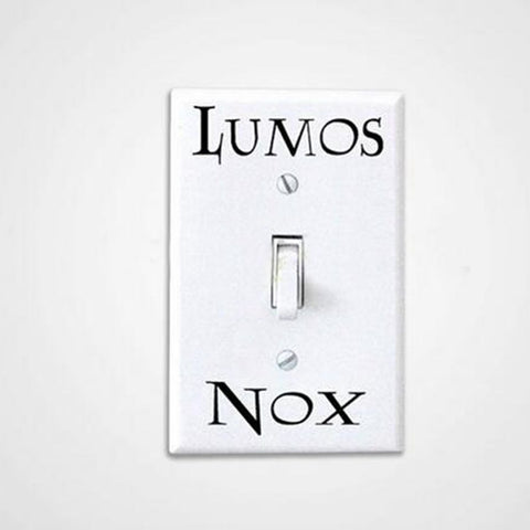 3 Lumos Nox Light Switch Stickers
