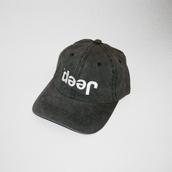 Jeep Misprint Hat - Washed Black