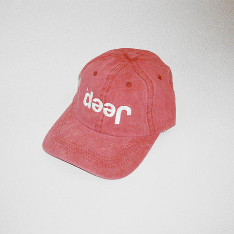 Jeep Misprint Hat - Salmon
