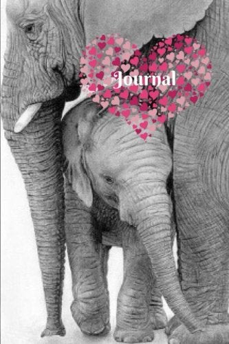 Elephant Gifts Love, Inspirational Personal Journal, Notebook: Blank, Journal, Daily World Finds, Daily World Finds